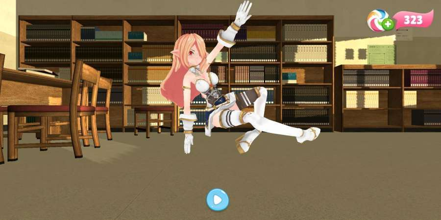 学校女生舞蹈