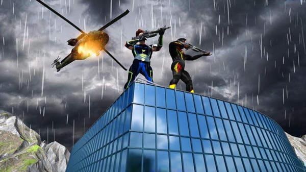 钢铁侠射击战争